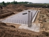 Zinc Pit foundation / floor